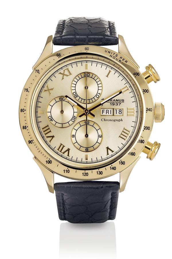 Cronografo uomo 18 KT