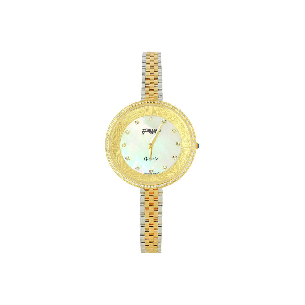 Orologio in oro donna quadrante in madreperla
